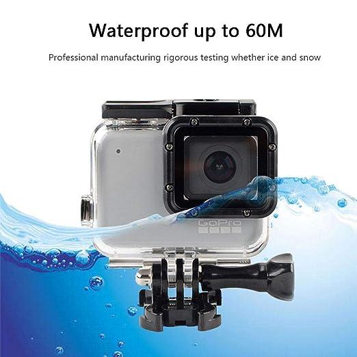Carcasa impermeable para cámara de acción GoPro Hero7 Silver ...