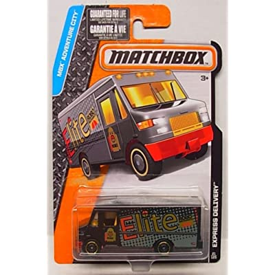 Matchbox 2016 MBX Adventure City 21/125 - Express Delivery Truck: Toys & Games