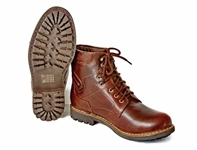 7a92df67c835 Mens Black Leather Boots Lambeth Rubber Sole Casual Shoes Size 6 7 8 ...