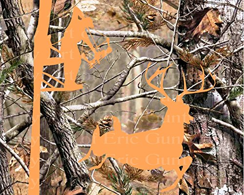 (1/4 Sheet - Camo Deer Bow Hunting Birthday - Edible Cake/Cupcake Party Topper!!!)