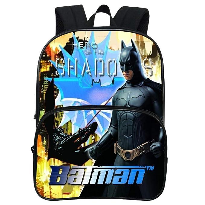 Batman Mochila Escolar Para Niños Adolescentes Ligeros Mochilas Para Niños Y Niñas Bolsas Escolares De 3-8 Años,Batman(1)-24 * 15 * 30cm: Amazon.es: Ropa y ...