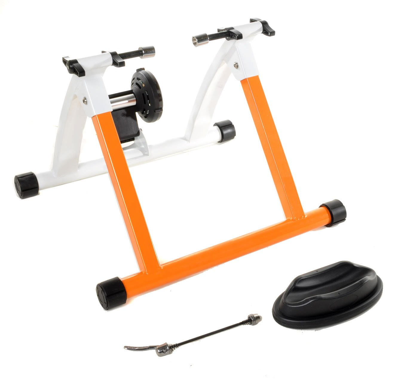 Conquer Indoor Bike Trainer Portable Exercise Bicycle Magnetic Stand by Conquer (Image #2)