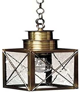product image for Brass Traditions 222 SXDB Medium Hanging Lantern 200 Series, Dark Brass Finish 200 Series Hanging Lantern