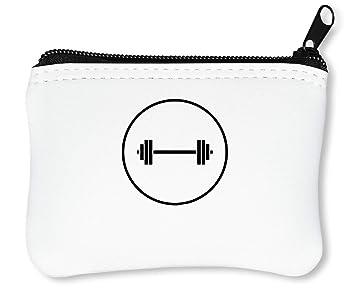 Weight Lifting Logo Billetera con Cremallera Monedero ...