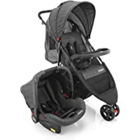 Travel System Jetty Duo Cosco Preto Cosco, Preto Mescla