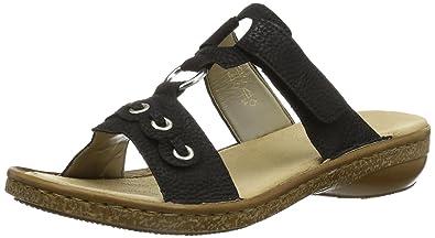 Rieker 62898 Damen Pantoletten  Rieker  Amazon.de  Schuhe   Handtaschen 7dba7e5c7b