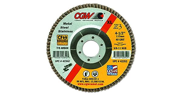 42372 SEPTLS42142372 Cgw abrasives Flap Discs
