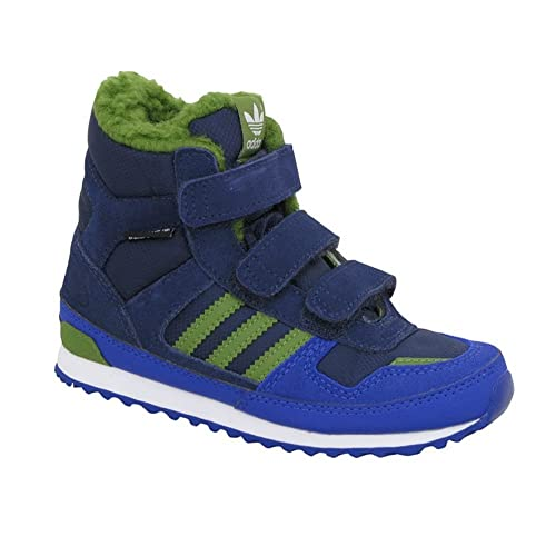c0ecb66f776e1 Adidas - ZX Winter CF I - M17950 - Color  Green-Navy blue - Size  5.0   Amazon.co.uk  Shoes   Bags