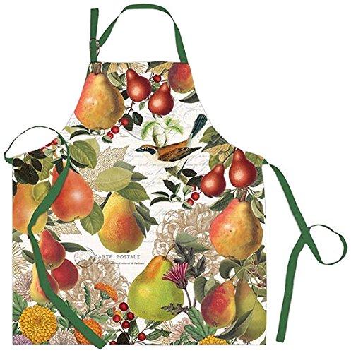 (Michel Design Works Cotton Chef Apron, Golden Pear)