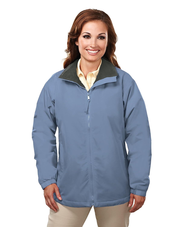 Tri-Mountain Women's Windproof/Water Resistant PU-Coated Micro Fleece Shell Adventure Jacket TRM8820