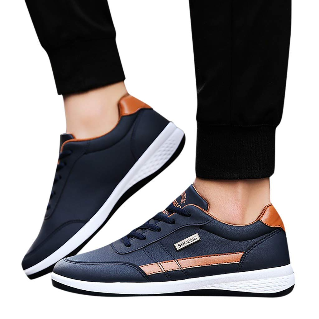 Amazon.com: YKARITIANNA Fashion Men Sneakers Walking Casual Shoes Breathable Lace Up Shoes Running Shoes