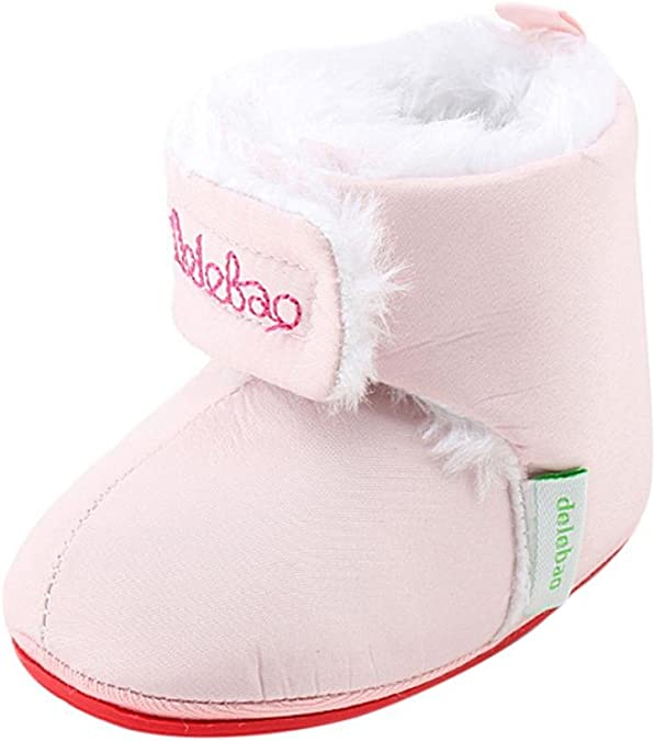 Amiley Baby Boy Soft Sweet Booties Snow Boots Infant Toddler Newborn Warming Shoes