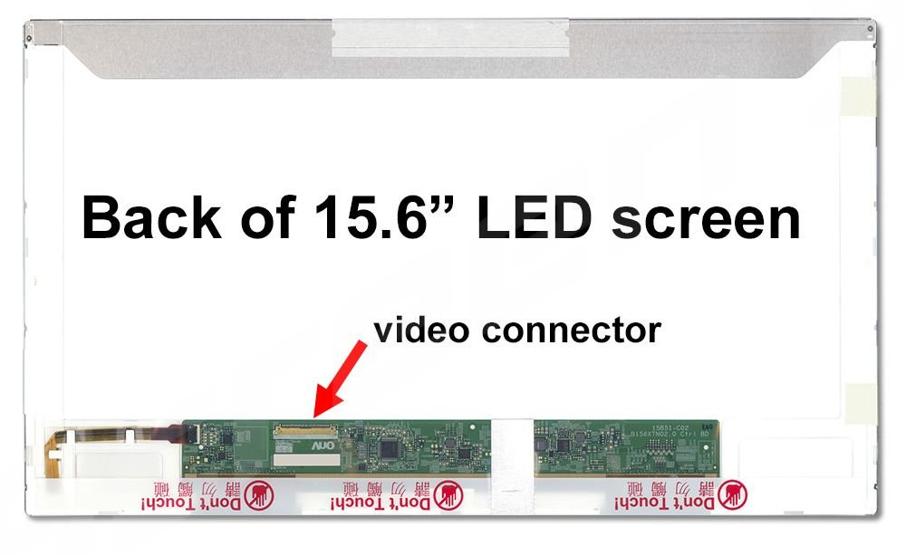 Dell XPS l502 X新しい交換用LCD画面ノートパソコンLED HD Glossy。 B01133UY26