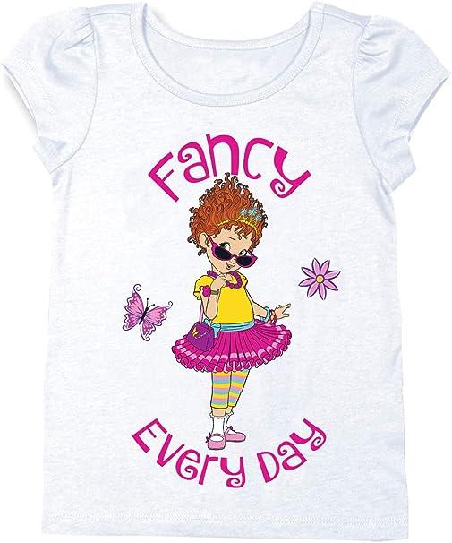 ~ NWT Details about  /Disney Store FANCY NANCY /'So Fancy/' Purple Sparkle Shirt Top ~ Sz 4 XS