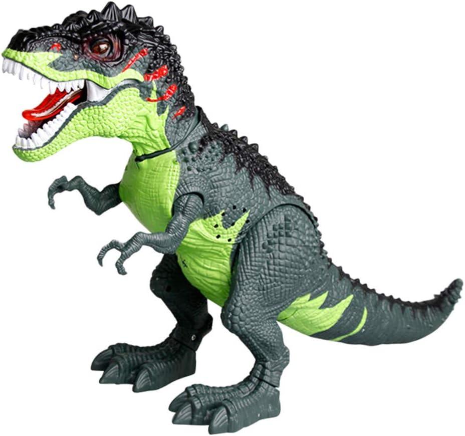 Electronic Walking Dragon Toy/_Fire Breathing Water Spray Dinosaur WHITE