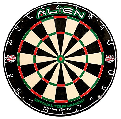 Alien Competition Bristle Dartboard by Dart World