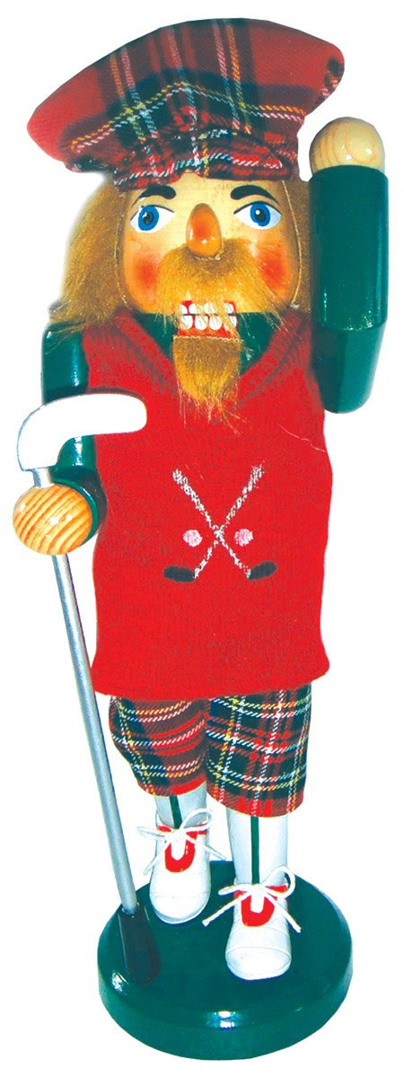 Santas Workshop 70706 Golfer Nutcracker 14 Multicolored Santa/'s Workshop Inc.