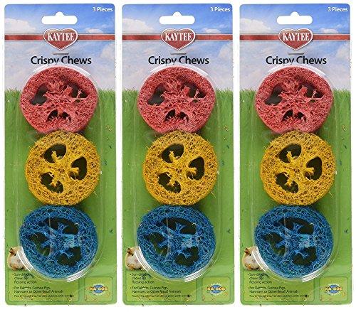 (3 Pack) Super Pet Ka-Bob Small Animal Crispy Chew Treats, Colors Vary, 3 Treats Per ()