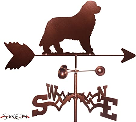 SWEN Products Hand Made Gordon English Setter Dog Side Mount Weathervane ~New~