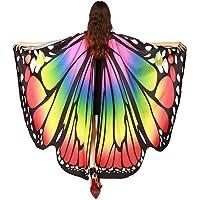 Kfnire Mariposa Alas Chal para Mujer Niña