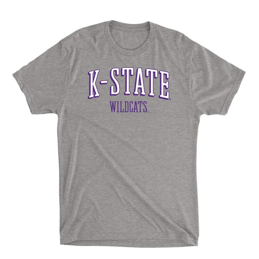 RYLKSU07 Mens//Womens Premium Triblend T-Shirt Official NCAA Kansas State University Razorbacks