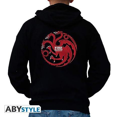Abysse Corp Sudadera Targaryen Man Black - Juego de Tronos - XL