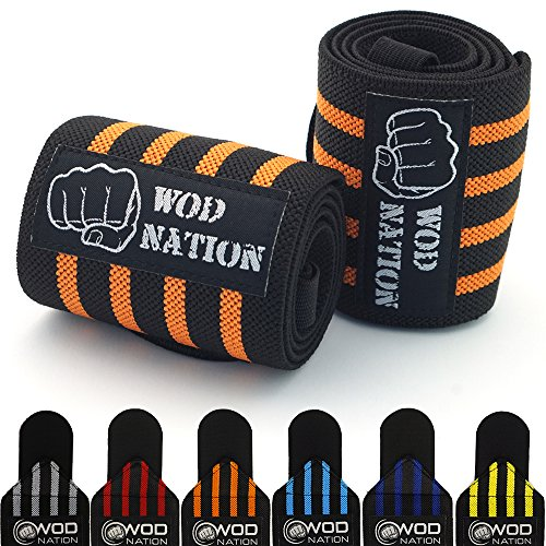 WOD Nation Wrist Wraps Wrist Support Straps (12