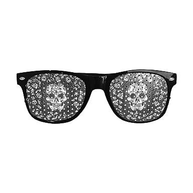 Amazon.com: D-Story - Gafas de cráneo para fiesta, ideales ...