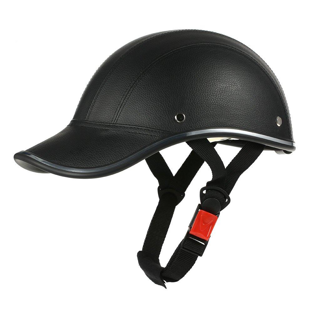 Riding Helmet Half Face Baseball Cap Helmet with Sun Visor