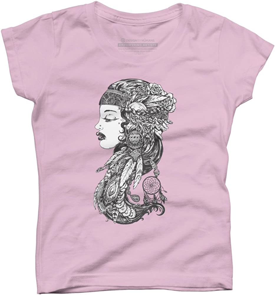 Gypsy Girl Girls Youth Graphic T Shirt Design By Humans
