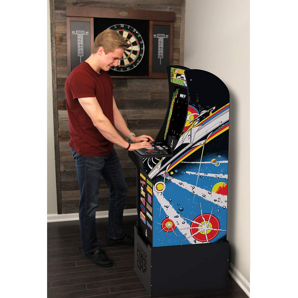 Arcade1Up Deluxe Edition 12-in-1 Arcade Cabinet with Riser, 5 feet by Arcade1Up (Image #4)