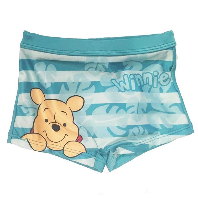 nuevo estilo de 2019 super especiales Calidad superior Winnie the Pooh - Bañador - para bebé niño verde agua 9 mes ...