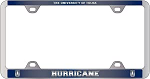 LXG, Inc. University of Tulsa-Metal License Plate Frame-Blue