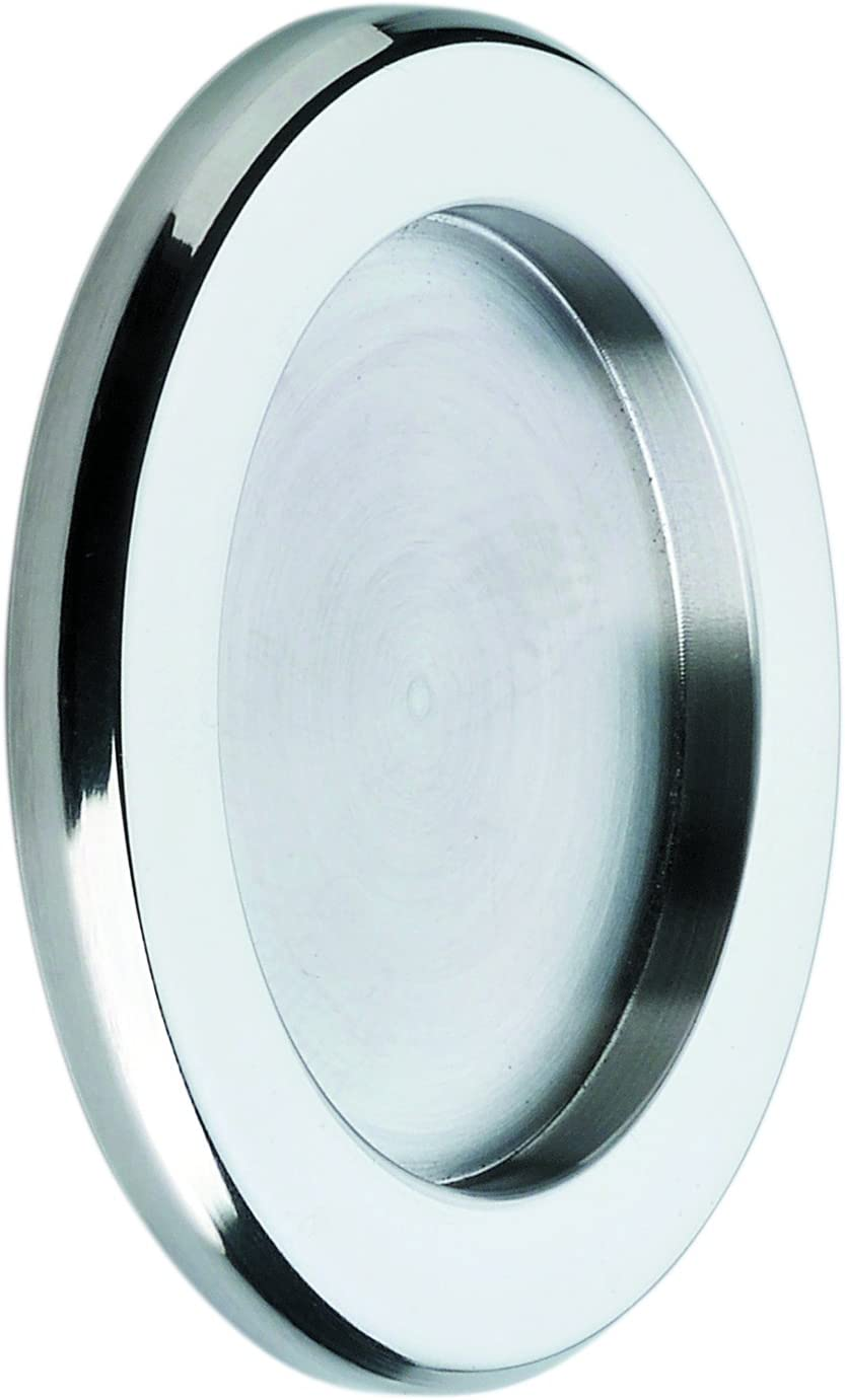 Tirador Inoxidable para puerta corredera cristal (Incluye adhesivo doble cara 3M). Venta por juegos de 2 uds.Grosor sólo 5 mm.BRILLO.: Amazon.es: Bricolaje y herramientas
