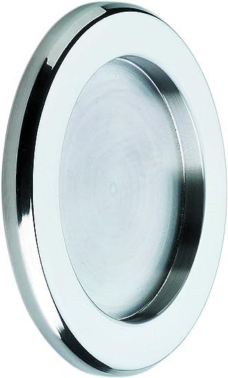 Tirador Inoxidable para puerta corredera cristal (Incluye adhesivo ...