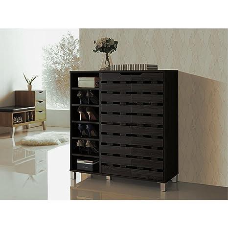 Amazon.com: BADA shop - Mueble de entrada, armario con ...