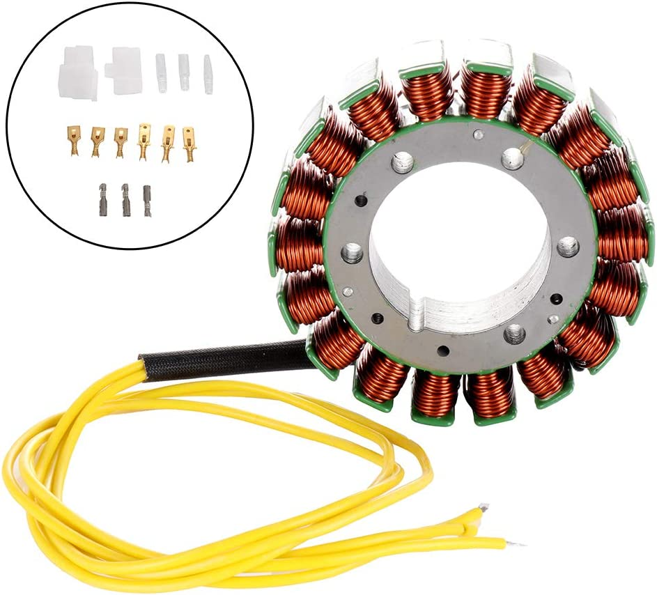 AUTOMUTO Magneto Stator 31120-MG8-005 31120-MAA-005 31120-MAH-005 Ignition Generator Coils Fit for 1995 Honda VT1100A Shadow ACE 1996 Honda VT1100B Shadow 1985-1990 1992 Honda VT1100C Shadow