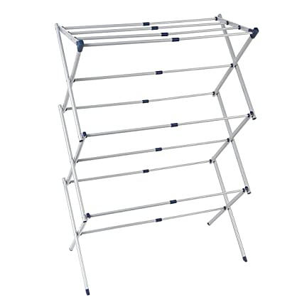 d49aae739 Amazon.com  Drynatural Drying Rack for Laundry-Extra Large Expandable Air Dry  Rack with 25ft Drying Space-Foldable Clothes Dryer  Home   Kitchen