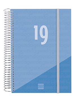 Agenda 2019 día página vasco
