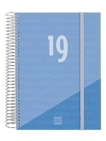 Agenda 2019 día página portugués