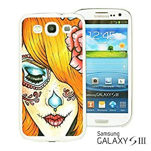 OnlineBestDigital - Skull Pattern Hardback Case for Samsung Galaxy S3 III I9300 - Sugar Lady