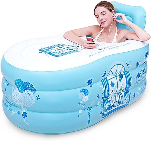 Bañeras con jacuzzi Piscina Inflable Bañera Adulto De Baño Baño De ...