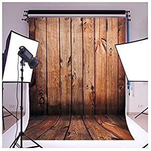 Wooden Wall Floor Vinyl Fabric Photography Backdrops Photo Studio Background Studio Props Grade AAAAA