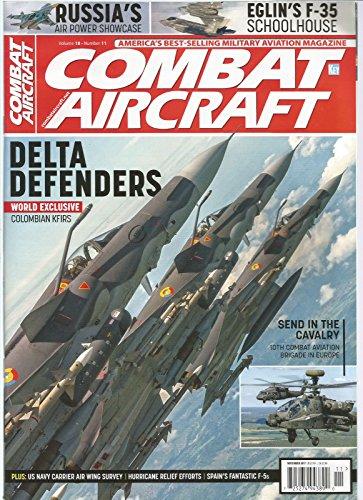 COMBAT AIRCRAFT MAGAZINE NOVEMBER 2017, DELTA DEFENDERS