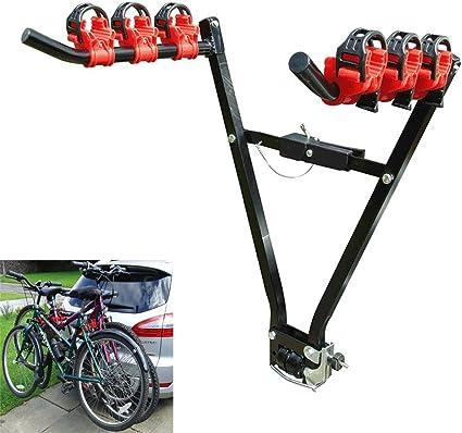logas 3 Bicicletas Portabicicletas V-Rack Barra de Remolque del ...