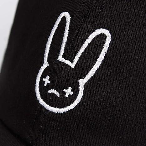 Mighteay Bad Bunny - Gorro de algodón 100% para Hombre, diseño de ...