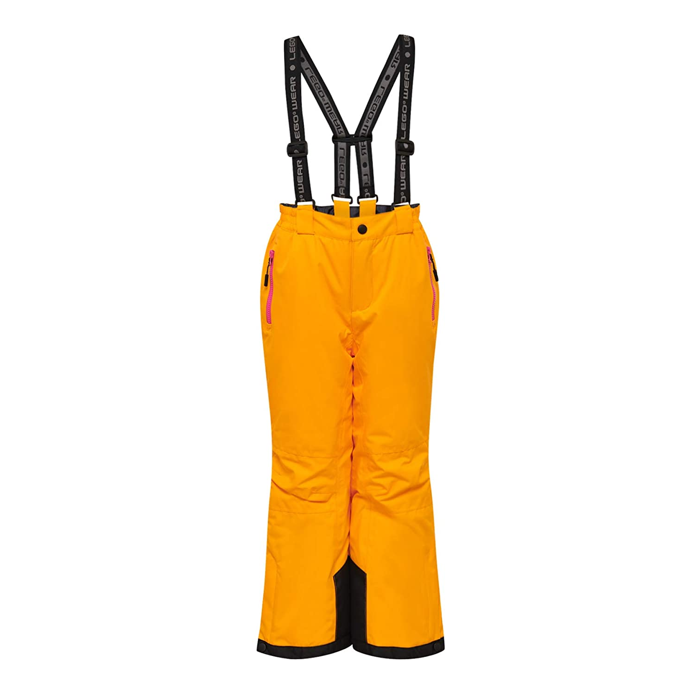 Arancione LEGO Wear Lego Tec Action Lwplaton 725-Skihose//schneehose Pantaloni da Neve Light Orange 275 146 Bambina
