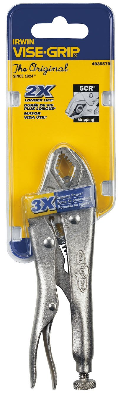 5-inch Original 4935579 Curved Jaw IRWIN Tools VISE-GRIP Locking Pliers