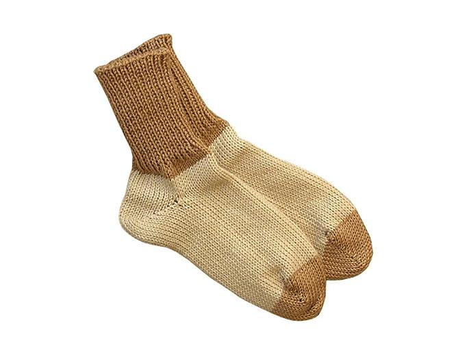 Calcetines 100% lana de merino lana niños deportes de invierno de punto calentadores de la