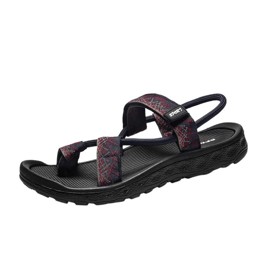 HOSOME Men Shoes SWEATER メンズ B07PN5JWWV ブルー 39